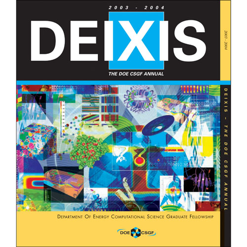 Cover of DEIXIS 2003-2004 Magazine