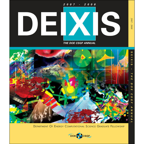 Cover of DEIXIS 2007-2008 Magazine