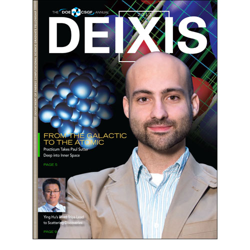 Cover of DEIXIS 2011 Magazine