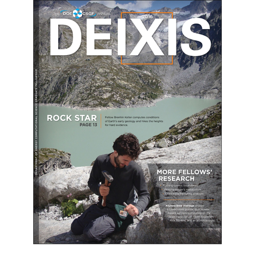 Cover of DEIXIS 2016 Magazine