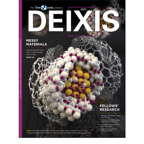 Cover of DEIXIS 2017 Magazine
