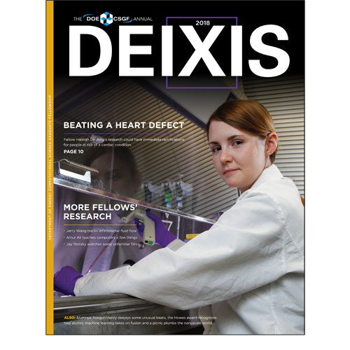 Cover of DEIXIS 2018 Magazine