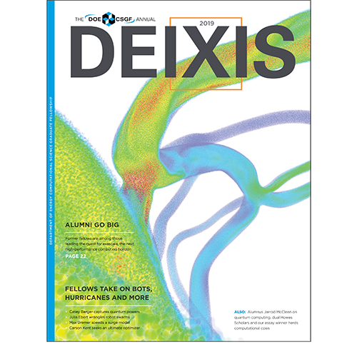 Cover of DEIXIS 2019 Magazine