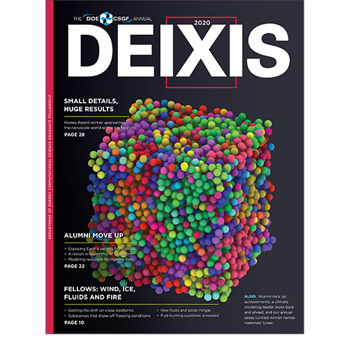 Cover of DEIXIS 2020 Magazine