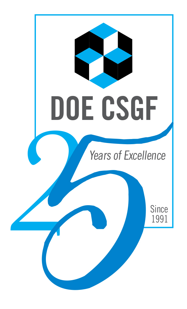 DOE CSGF 25th Anniversary Logo