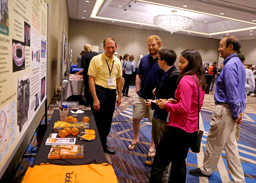 The lab poster session connects fellows with practicum, post-doc and career opportunities.