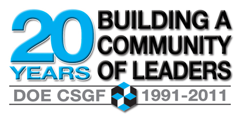 DOE CSGF 20th Anniversary Logo