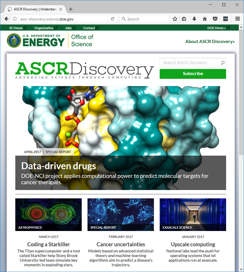 ASCR Discovery