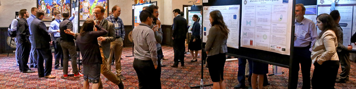 The annual fellows' poster session showcases program-supported research.