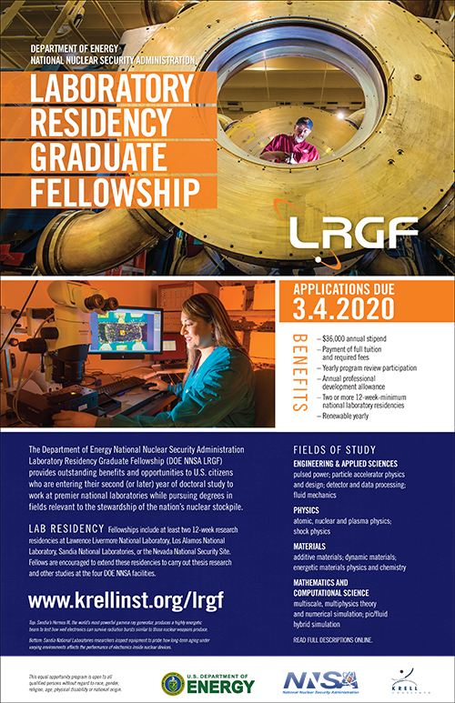 Click to download/print the official 11x17 LRGF recruitment poster.