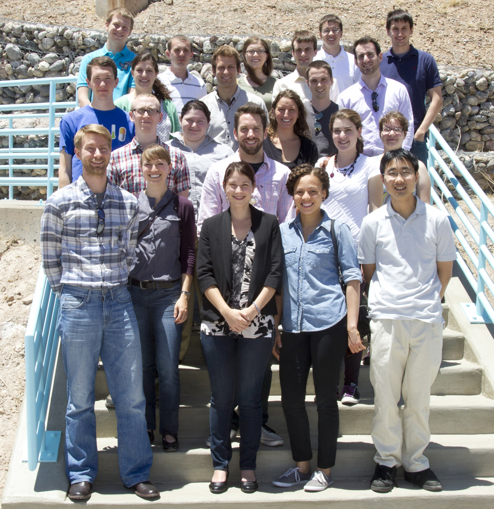 Fellows toured LANSCE and LANL prior to the 2013 program review.