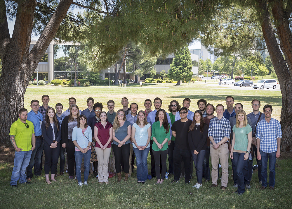 Fellows toured Lawrence Livermore National Laboratory ahead of the 2018 program review.