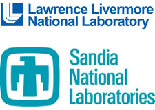 Logos: Lawrence Livermore and Sandia