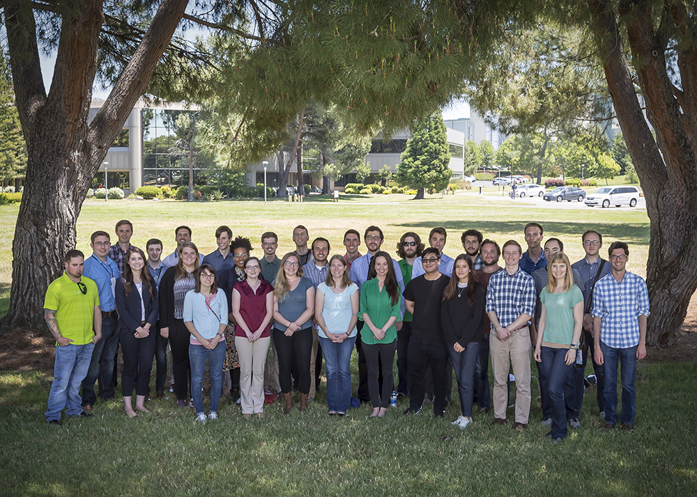 Fellows toured LLNL prior to the 2018 program review.