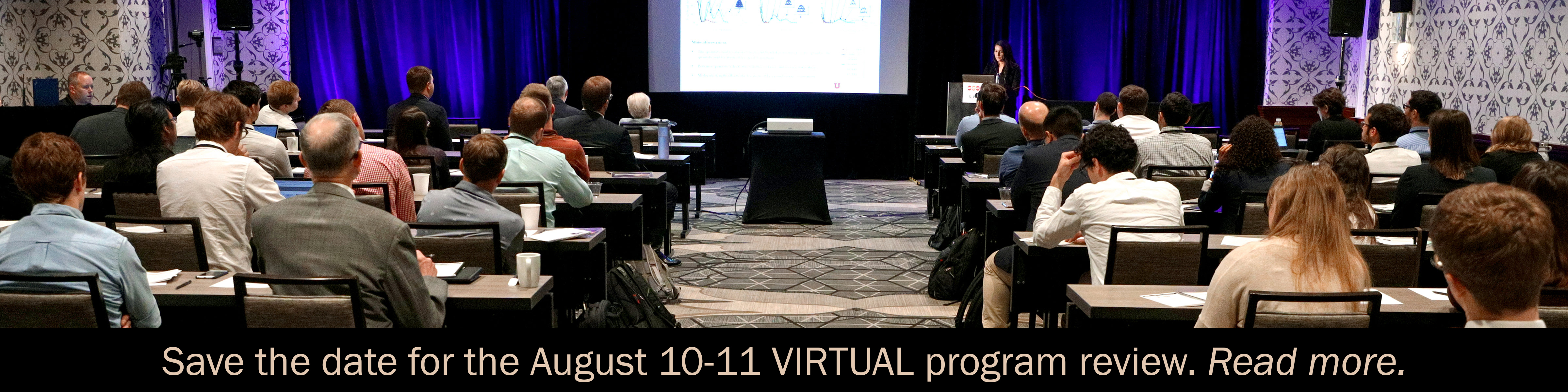 2021 virtual program review is set for August 10-11.