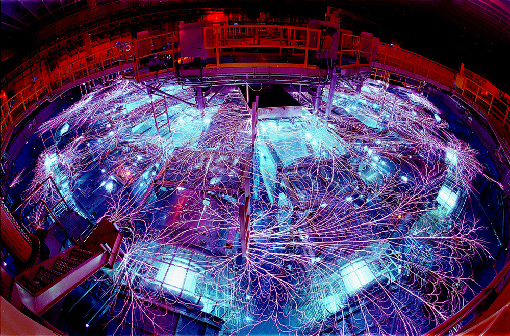 The Z machine is located in Albuquerque, N.M., and is part of the Pulsed Power Program, which started at Sandia National Laboratories in the 1960s. Courtesy of Sandia National Laboratories.